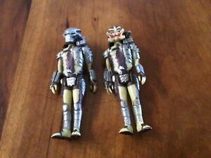 Lot Of 2 PREDATOR (MASKED)/ Mouth Open ACTION FIGURE FUNKO