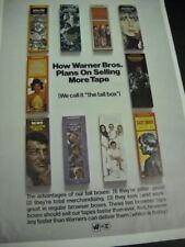 Jimi Hendrix Joni Mitchell The Association Jethro Tull more Rare 1969 Promo Ad