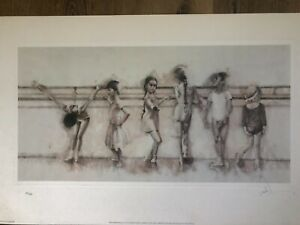 """Charles Willmott – 1997 """"Future Primas"""" 299/600 Lithograph Hand Signed by Artist"""
