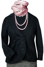 VERO MODA Jacke Blazer Jacket Bürojacke Businessjacke Damen S 36 38 Schwarz K60