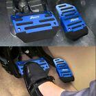Blue Non Slip Automatic Gas Brake Foot Pedal Pad Cover Car Auto Accessories