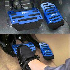 Blue Non Slip Automatic Gas Brake Foot Pedal Pad Cover Car Auto Accessories Fits 2007 Sportage