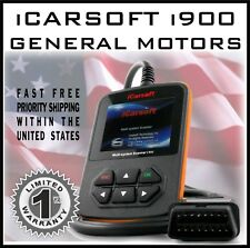 GM iCARSOFT i900 OBD2 ENGINE ERROR CODE READ ERASE VEHICLE DIAGNOSTIC SCAN TOOL