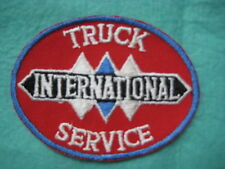 "Vintage Scout Early International Truck Dealer Service Patch 4"" X 3"""