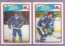 1988-89 Topps Quebec Nordiques Team Set