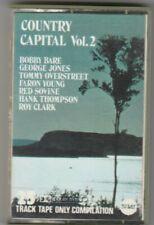 VARIOUS ARTISTS Cassette Album - COUNTRY CAPITAL VOL 2 George Jones, Bobby Bare