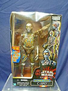 STAR WARS EPISODE 1 ELECTRONIC TALKING C-3PO MODEL