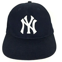 New York Yankees Cap NY Logo Baseball Team MLB Trucker Strap Back Navy Blue Hat