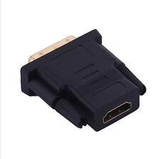 DVI to HDMI connector DVI Male to HDMI Female convereter 24+1 DVI to HDMI 1080p