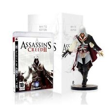 Assassin's Creed II 2: White Edition [PlayStation 3 PS3, Region Free, Figurine]