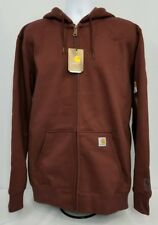 Carhartt Rain Defender Heavyweight Paxton zip hooded sweatshirt.  Men's 3XLT