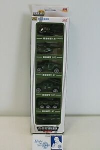 NEW Set of 6 Battle of Valor Armament Series Die Cast Military Vehicles 1:87