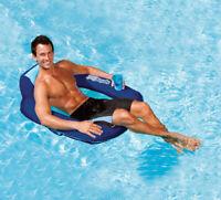 Swimways  Blue  Fabric/Mesh  Inflatable Floating Pool Mat