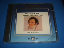 CD AUROPHON SCHUBERT LA TRUITE CASPAR DA SALO QUARTETT AU 031429 NEW 1989 SEALED