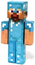 Minecraft Diamond Steve Papercraft [Single Piece]