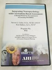 AHI CD Lecture-Integrating Neuropsychology with Curriculum-Based Assessment NEW