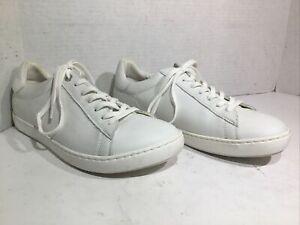 Birkenstock Womens Size 9 EU 40 Narrow Arran White Leather Sneakers ZE-970