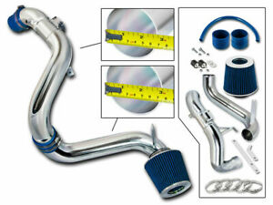 BCP BLUE 12-15 Civic EX/LX/DX 1.8L Cold Air Intake Induction Kit + Filter
