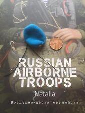 Las tropas rusas en el aire DAMTOYS Natalia WDW Azul Boina Suelto Escala 1/6th