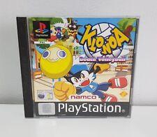 Klonoa Beach Volleyball für Playstation 1 / PS1 OVP+Anleitung  A2984
