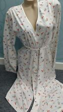 Waite'S SPLENDIDO BIANCO Kimono Orientale/Avvolgere Vestaglia Taglia XL 20-22