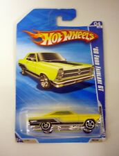 HOT WHEELS '66 FORD FAIRLANE GT Muscle Mania Die-Cast Car MOC COMPLETE 2009