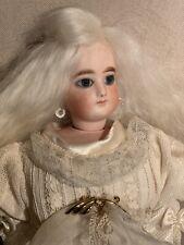 Antique bisque head fashion Doll Jumeau. Character france doll Circa 1880 Origin