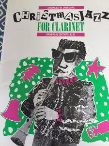 Christmas Jazz For Clarinet - Arr. James Rae - Sheet Music