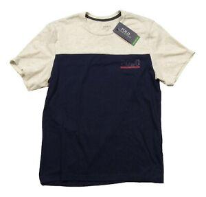 Polo Ralph Lauren Men's Navy/Beige Colorblock Breathable Mesh Crew-Neck T-Shirt