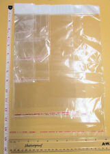 Self Adhesive Clear Resealable Cellophane Bag with Hang Hole/Cello Packaging