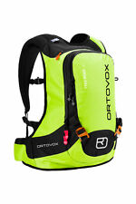 Backpack Skiing Freeride Snowboard Snowshoes Ortovox FREE RIDER 18 happy green