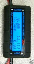 130 Amp Watt  Meter SPECIAL HEAVY 10 AWG WIRE 4 HI/AMPS Solar/Wind Turbine USED