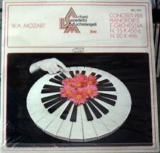 Mozart: Piano Concerto N.15 & 20 / A. Benedetti Michelangeli, M. Rossi LP