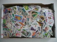 30.000 sellos usados mundiales, También se repiten. Incluye 15.000 de España