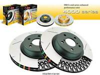 DBA 4000 SPORT 6X6 WIPER SLOT REAR SET BRAKE ROTORS 2004 PONTIAC GTO BASE COUPE
