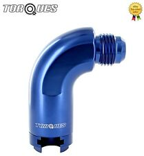 AN -8 (-8AN) 90 Degree O.E Compact Quick Connect 5/16 Female Fuel Line Adapter