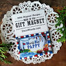 World's Best PAPPY Gift Magnet Decorative Greetings Made in USA New in Package