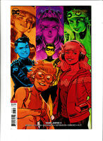 Young Justice DC Comics #2 NM- 9.2 Cover B Shaner Robin Superboy Impulse 2019
