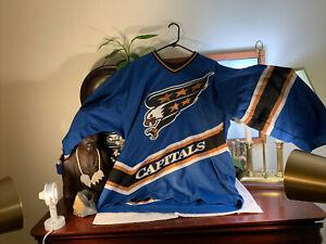 CCM Washington Capitals Screaming Eagle NHL Authentic Jersey Men's Size XL Rare