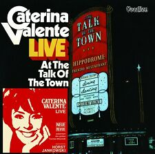 Caterina Valente - Live at the Talk of the Town/C - Caterina Valente CD J0VG The