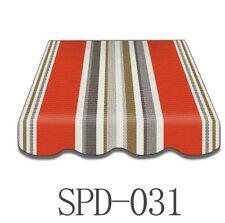 Markisenstoff Markisen Markisenbespannung Ersatzstoff-Volant 3 x 2 m SPD031
