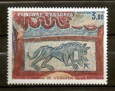 Andorra ( Correo Francés ) : 1982 Sant Joan de La Cortinada ( MNH )