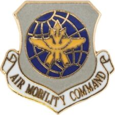 US Air National Guard Crest Air MobilityTie Tac Tie Tack  With Chain & Clutch