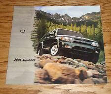 Original 2001 Toyota 4Runner Sales Brochure 01