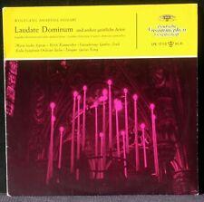 Mozart geisliche Arien Maria Stader DGG Hersteller 17110 10'' LP NM & CV EX +