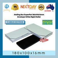 1000x Bubble Padded Bag #01 160x230mm - Plain Blank - White 01 Envelope Mailer