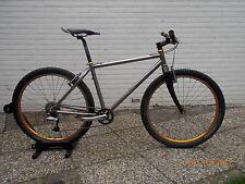 Titan / titanium Mountainbike MTB Chris King, Hügi 240, Carbon Gabel, XT  M