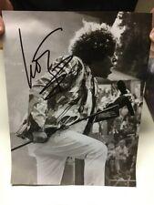 LEO SAYER Legendary Pop Singer AUTOGRAPH SIGNED 9 x 11.5 CONCERT PHOTO