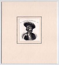 Albrecht Achilles-Portrait-Stahlstich um 1840