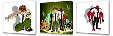 Ben 10  set of Three Wall / Plaques canvas pictures
